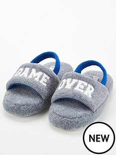 v-by-very-game-over-slogan-slippers-grey