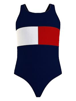 tommy-hilfiger-girls-colour-block-swimsuit-navy