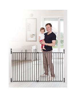 dreambaby-broadway-2-panel-extenda-gate-76-1345cm--nbspcharcoal