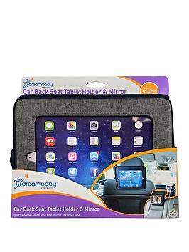 dreambaby-backseat-mirror-with-built-in-ipadtablet-holder-grey