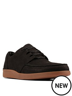 clarks-oakland-walk-trainers-black