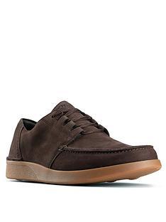 clarks-oakland-walk-trainers-dark-brown