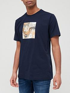 nicce-aerial-box-t-shirt-navy
