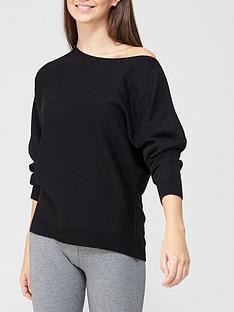 v-by-very-super-soft-off-shoulder-batwing-knitted-jumper-black