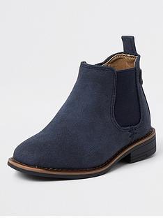 river-island-mini-boysnbspsmart-chelsea-boots-navy