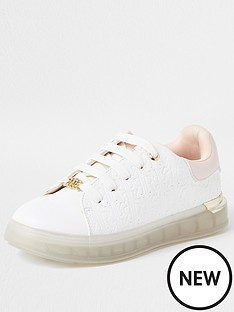 river-island-girls-monogram-trainers--nbspwhite