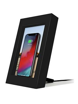 twelve-south-powerpic-picture-frame-stand-with-integrated-10w-qi-charger-for-iphone-wireless-charging-smart-phones-black