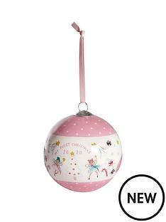 mamas-papas-bauble-pink-xmas-wishes-2020