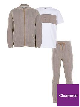 river-island-boys-3-piece-bomber-jogger-ampnbspt-shirt-set--nbsp-stone