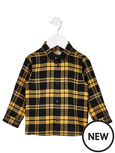 river-island-mini-boys-checked-shirt-blackyellow