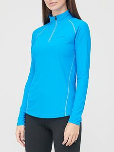 berghaus-247-long-sleevenbsphalf-zip-tech-top-bluenbsp