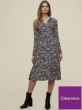 dorothy-perkins-jersey-mono-floral-shirt-dress-black