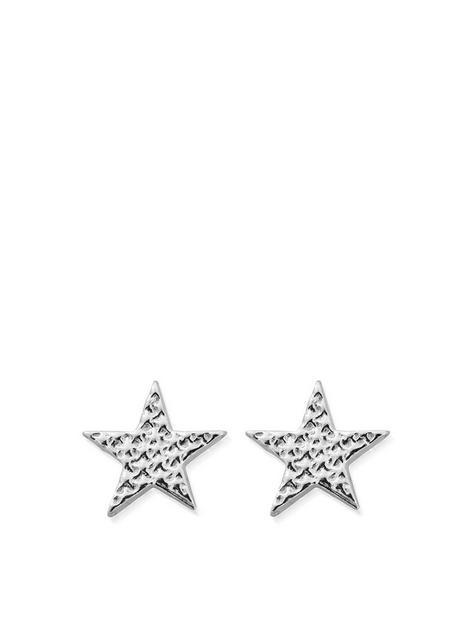 chlobo-chlobo-sterling-silver-sparkle-star-stud-earrings