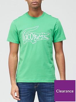 lacoste-inside-croc-large-logo-t-shirt-green