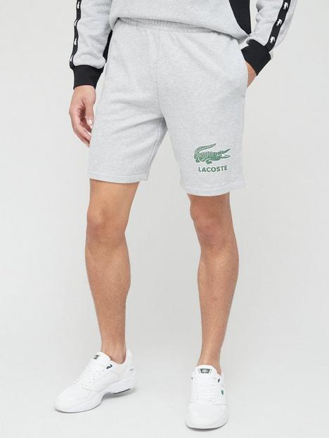 lacoste-classic-sweat-shorts-grey