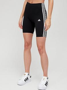 adidas-3-stripe-cycling-shorts-blackwhite