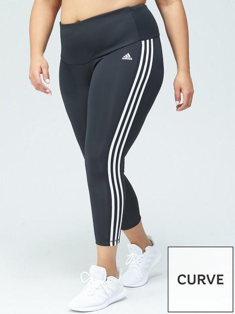 adidas-3-stripenbsp78-leggings-plus-sizenbsp--blackwhite