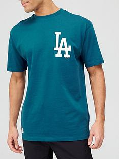 new-era-mlbnbspla-dodgers-chest-logo-t-shirt-teal