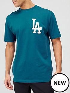 new-era-mlbnbspla-dodgers-chest-logo-t-shirt-teal