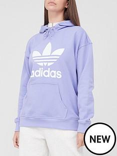 adidas-originals-trefoil-hoodie-light-purple