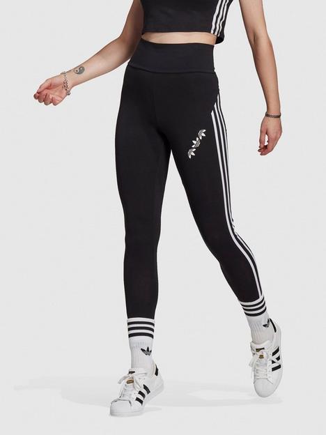 adidas-originals-split-trefoil-high-waisted-leggings-black