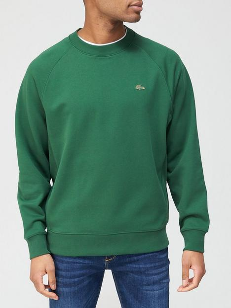lacoste-classic-sweatshirt-with-metal-croc-green