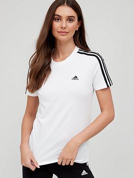 adidas-3-stripe-t-shirt-whiteblack