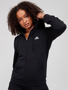 adidas-essentials-linear-full-zip-hoodie-black