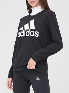 adidas-big-logo-sweatshirt-blacknbsp
