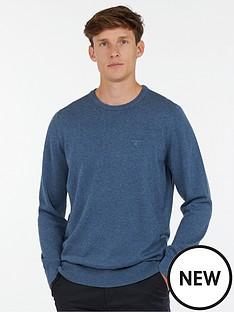 barbour-pima-cotton-crew-neck-jumper