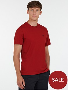 barbour-barbour-sports-t-shirt-crimson