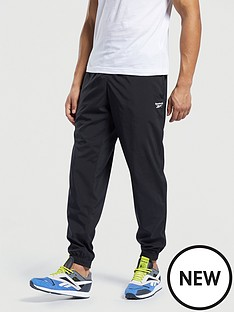 reebok-training-essential-woven-cuffnbsppants-black