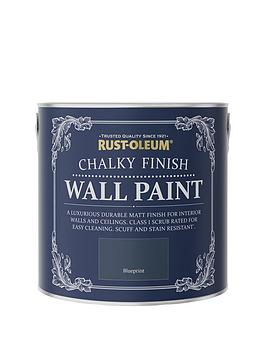 rust-oleum-chalky-finish-25-litre-wall-paint-ndash-blueprint