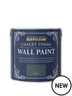 rust-oleum-chalky-finish-25-litre-wall-paint-ndash-deep-sea