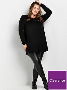 evans-long-sleeve-tunic-blacknbsp