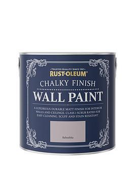 Product photograph showing Rust-oleum Chalky Finish 2 5-litre Wall Paint Ndash Babushka