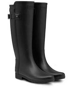 hunter-original-refined-back-strap-welly-boots-black