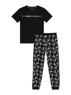calvin-klein-boys-logo-print-pjnbspset-black