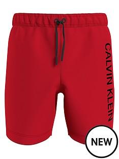 calvin-klein-boys-drawstring-logo-swim-shorts-red