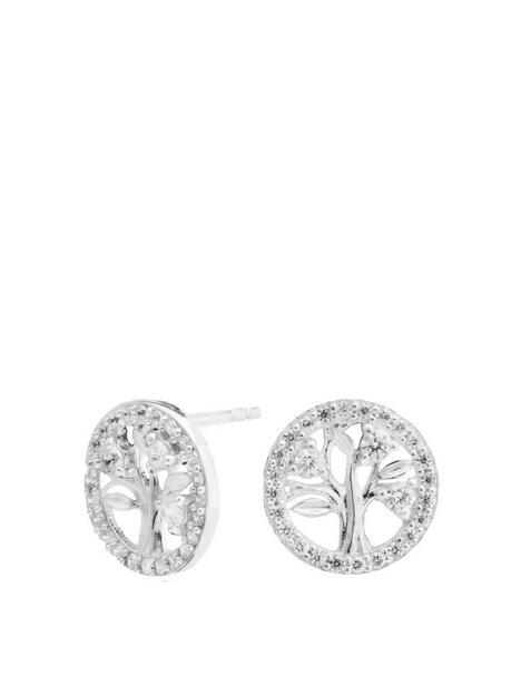 simply-silver-sterling-silver-cubic-zircona-tree-of-life-stud-earrings