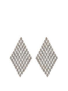mood-gold-plated-diamante-diamond-shape-earrings