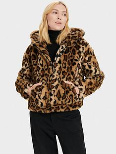 ugg-mandy-faux-fur-hooded-jacket-leopard