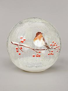 festive-20cm-battery-operated-lit-crackle-ball-robin