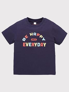 mini-v-by-very-boys-single-value-be-happy-t-shirt-navy