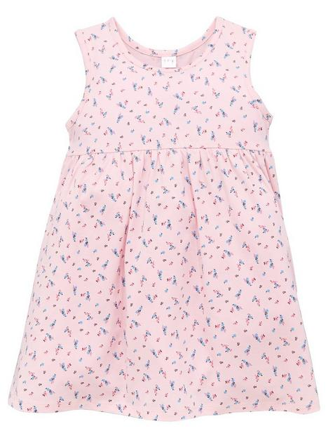mini-v-by-very-girls-valuenbspfloral-print-dress-pink