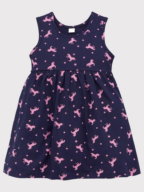 mini-v-by-very-girls-value-unicorn-print-dress-navy