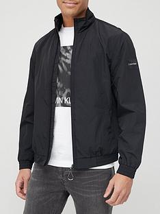 calvin-klein-crinkle-nylon-easy-bomber-jacket-black