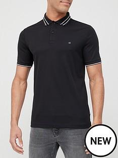 calvin-klein-liquid-touch-tipping-slim-polo-shirt-black