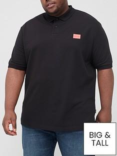 calvin-klein-big-amp-tall-stretch-pique-badge-slim-polo-shirt-blacknbsp