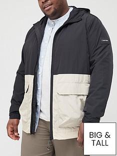 calvin-klein-big-amp-tall-crinkle-nylon-windcheater-jacket-bleached-stonenbsp